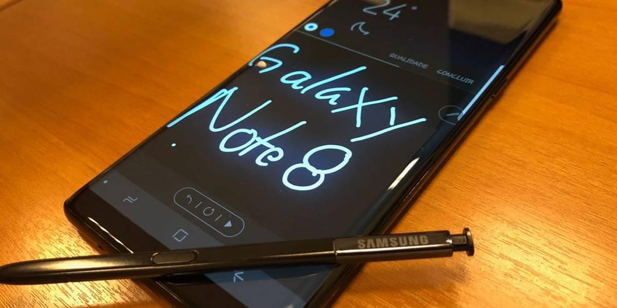 Galaxy Note 8 promete versatilidade e boas fotos