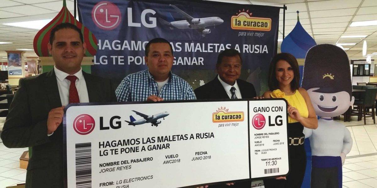 Gano con LG: Presentan al primer ganador que viajará a Rusia