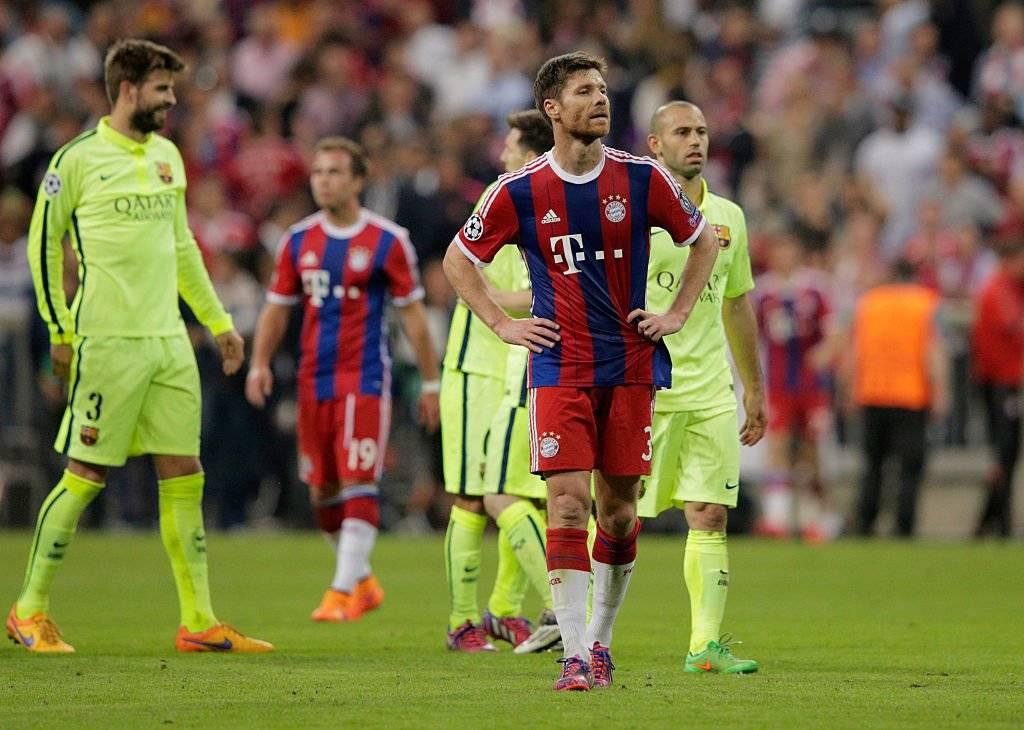 Xabi Alonso dejó el Real Madrid para fichar por el Bayern Munich al comienzo de la temporada 2014-2015 / Foto: Getty Images