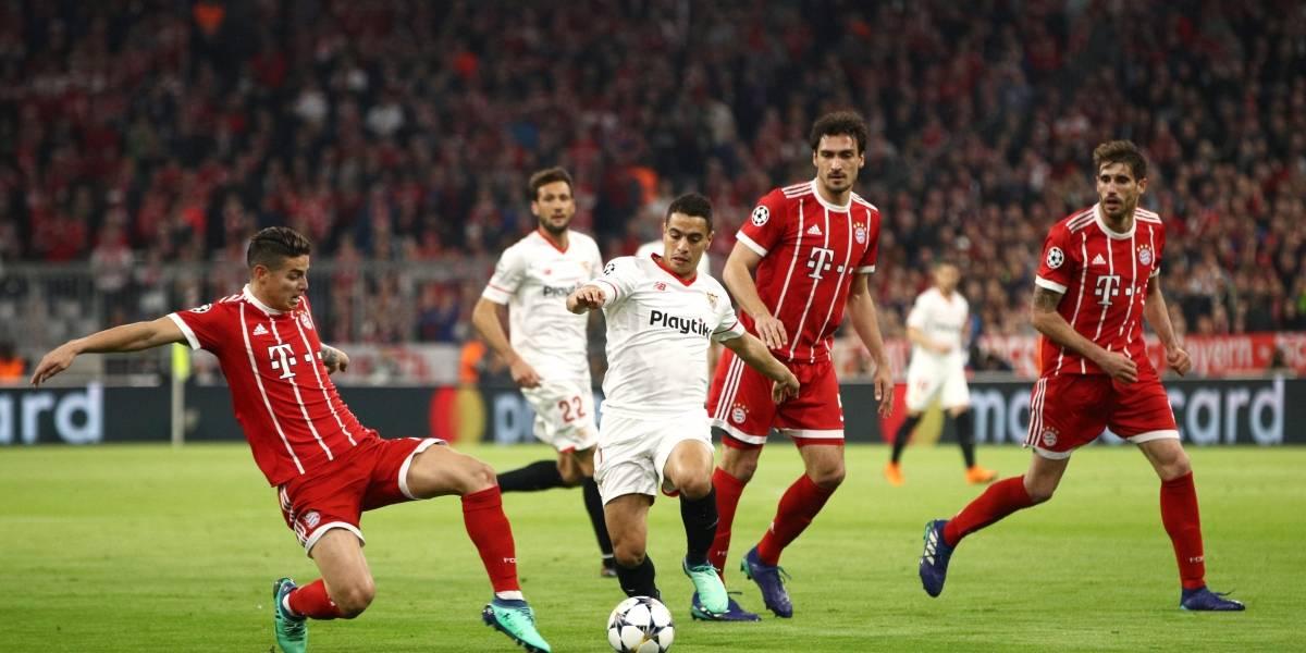 Minuto a minuto: El Bayern de Vidal pone a prueba su favoritismo ante el Sevilla