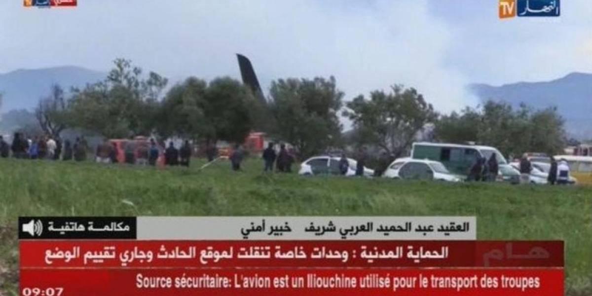 Tragedia aérea en Argelia: caída de avión militar deja al menos 257 muertos