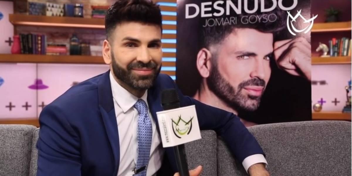 "Jomari Goyso presentó su libro ""Desnudo"""