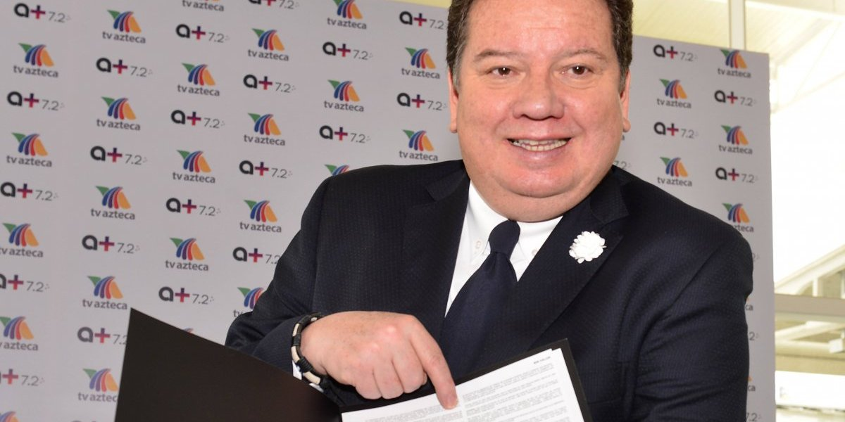 'Coque' Muñiz entra a las filas de TV Azteca