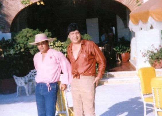Juan Gabriel y Joaquín Muñoz