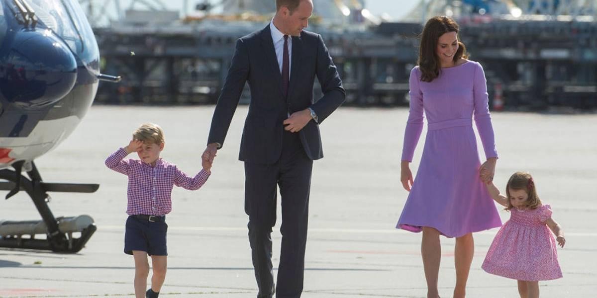 Qual o motivo para o Príncipe George sempre usar shorts?