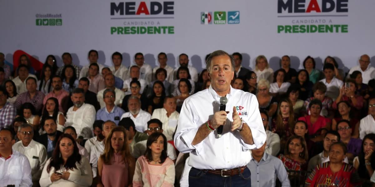 AMLO propone ocurrencias setenteras, yo prometo ventanilla única para mejorar créditos: Meade