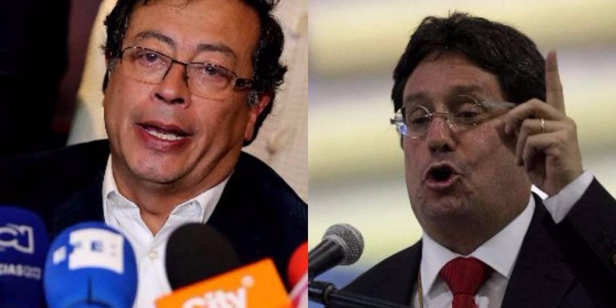 """""""Tiemblen, tiemblen"""": la advertencia de Pacho Santos sobre la campaña de Petro"""