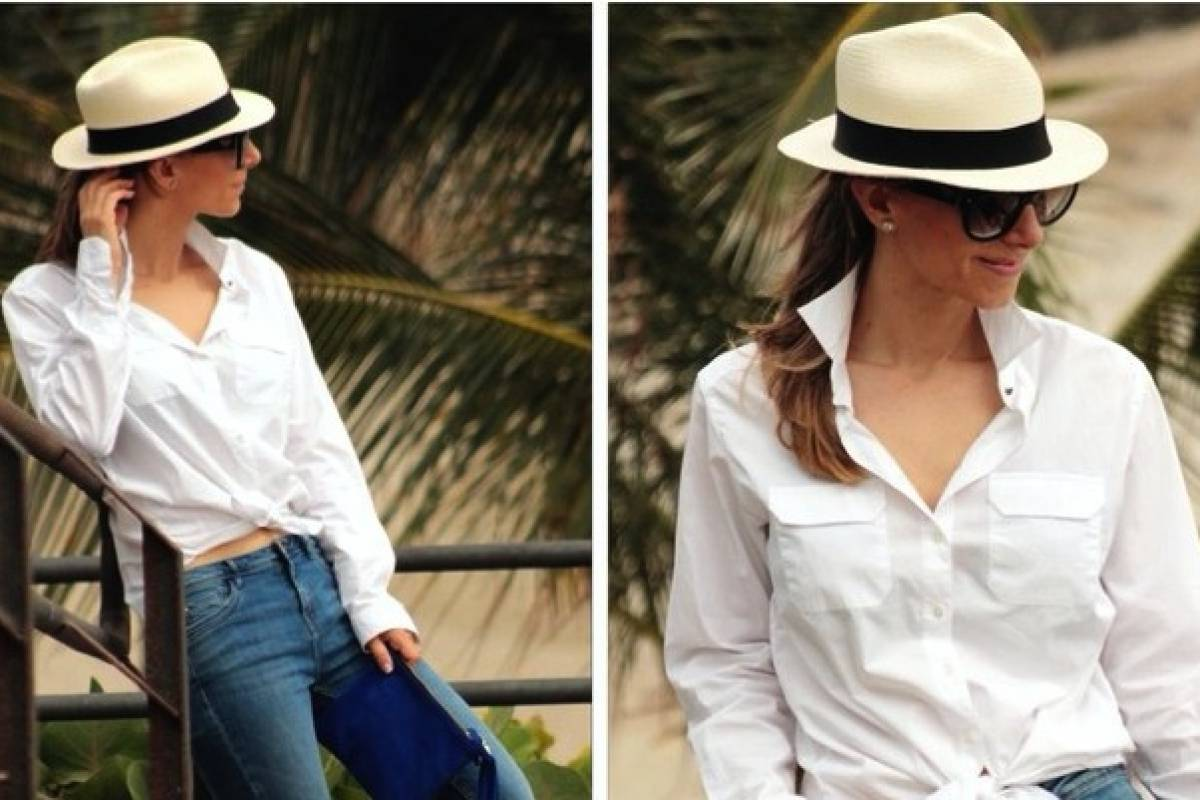 Viste con elegancia y estilo usando un sombrero de paja toquilla ... f3ff2e5ce44