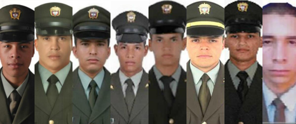 """Santos califica de """"cobarde"""" emboscada en la que murieron ocho policías"""