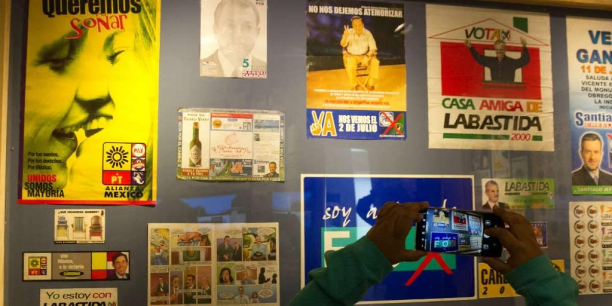 Exponen 108 años de propaganda electoral en el MODO