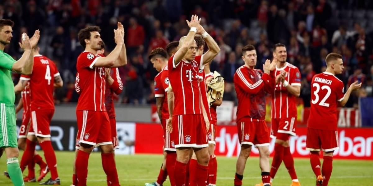 El Bayern pasa apuros contra el Sevilla pero clasifica a semifinales