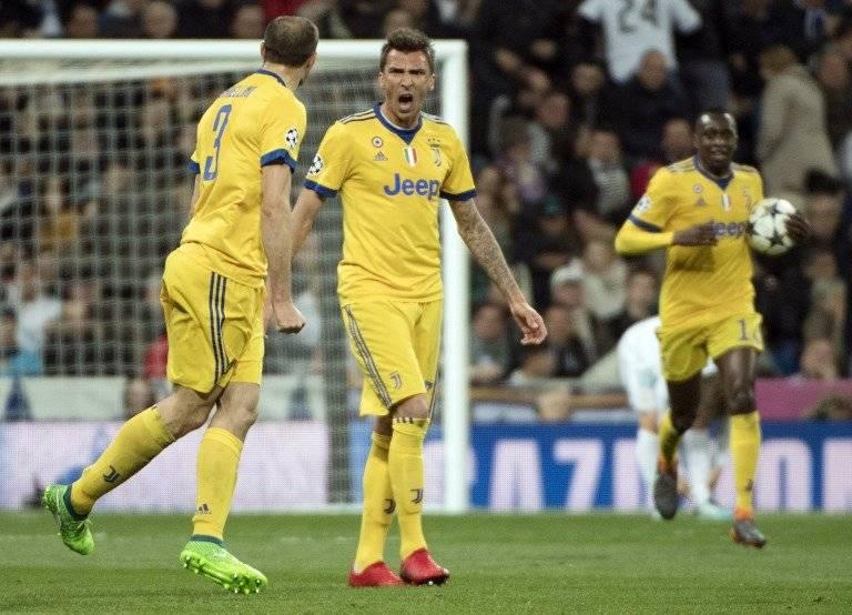 Gol de Mario Mandžukić contra el Real Madrid