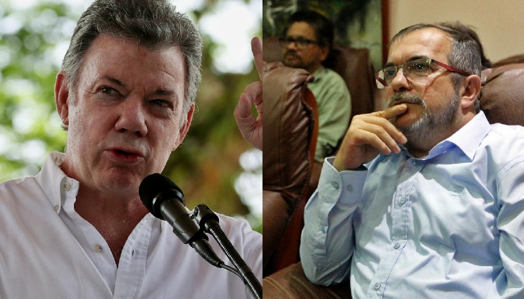 Juan Manuel Santos y 'Timochenko' se reunieron para hablar de 'Santrich'