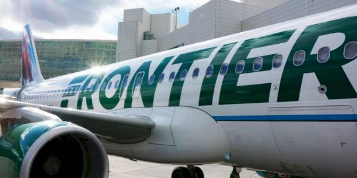 Aerolínea Frontier agrega cargo por recuperación de COVID-19