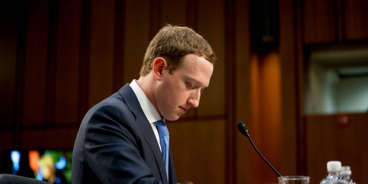 Zuckerberg defiende el modelo económico de Facebook ante el Congreso