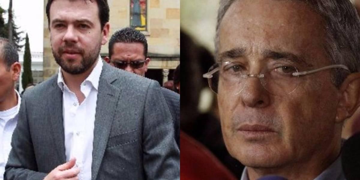 Pelea de Álvaro Uribe con Carlos Fernando Galán en plenaria del Senado