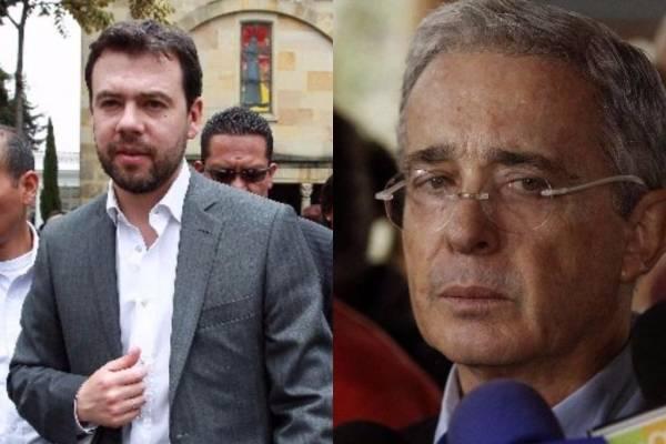 Pelea entre Álvaro Uribe y Carlos Fernando Galán