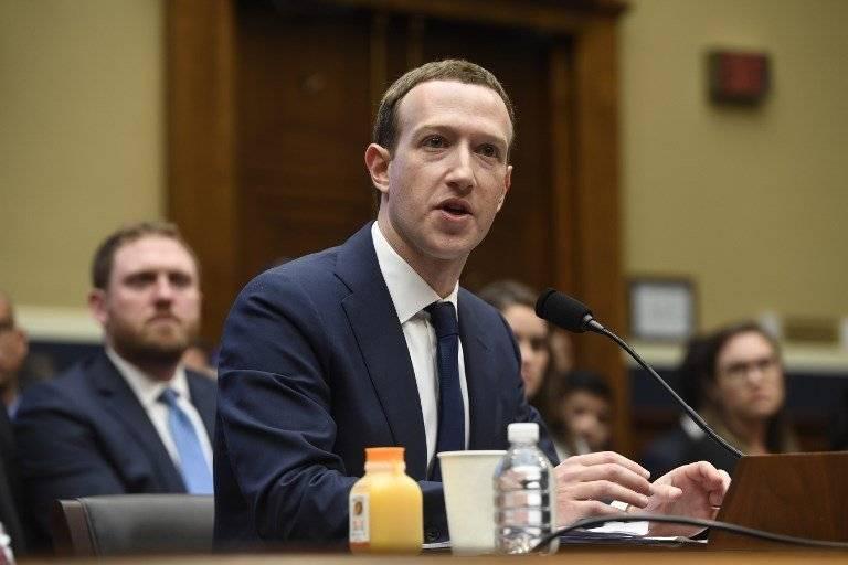 Mark Zuckerberg en el Congreso de Estados Unidos