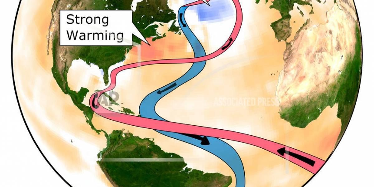 Estudio: Cambio climático debilita corriente oceánica