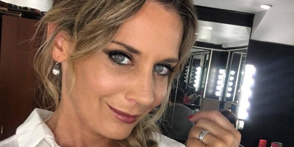 """Rocío Marengo sufrió confusa caída en el estudio de """"Viva la pipol"""" para salvar al niño embajador de la Teletón 2019"""