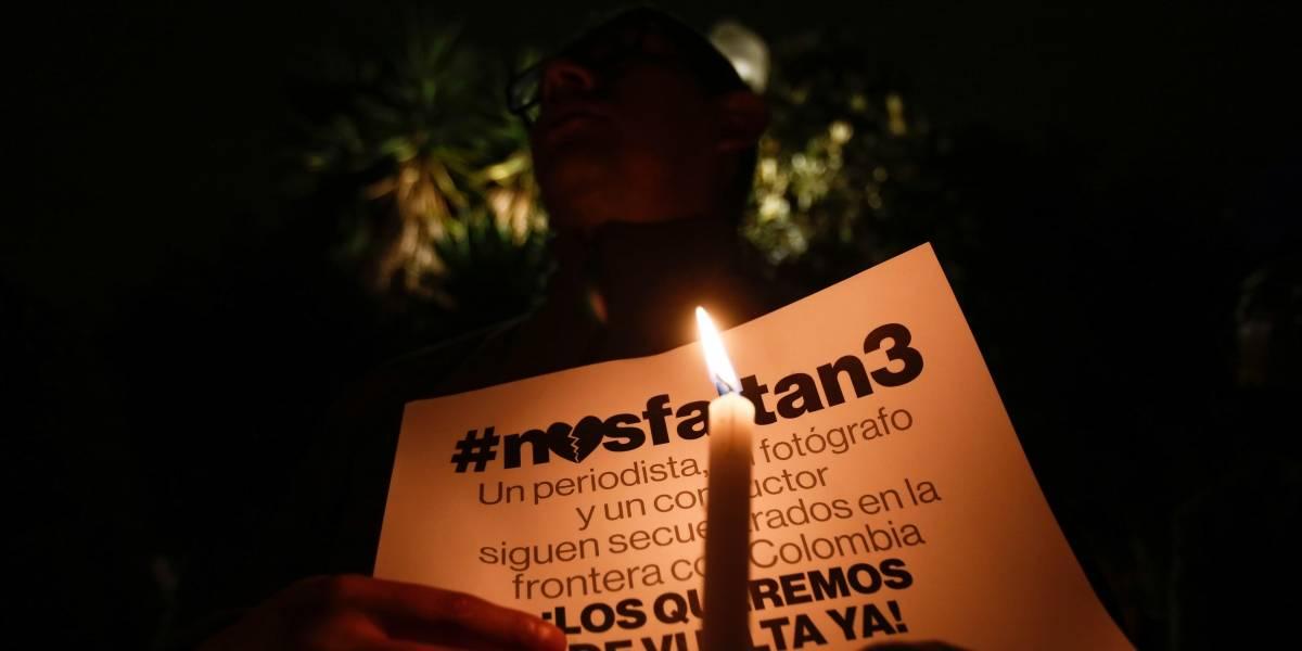 Autoridades ecuatorianas se reúnen por supuestas imágenes de periodistas secuestrados