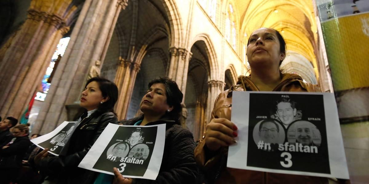 Nos sentimos consternados con lo que ha sucedido: Santos sobre periodistas