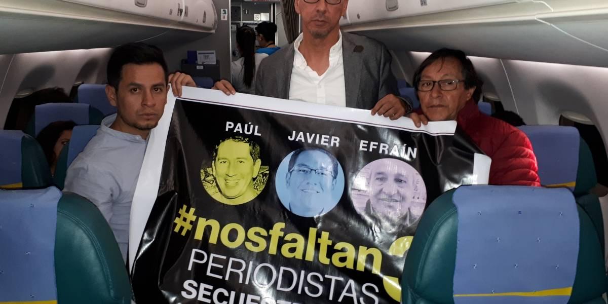 Decretado cuatro días de duelo en Ecuador por asesinato de periodistas