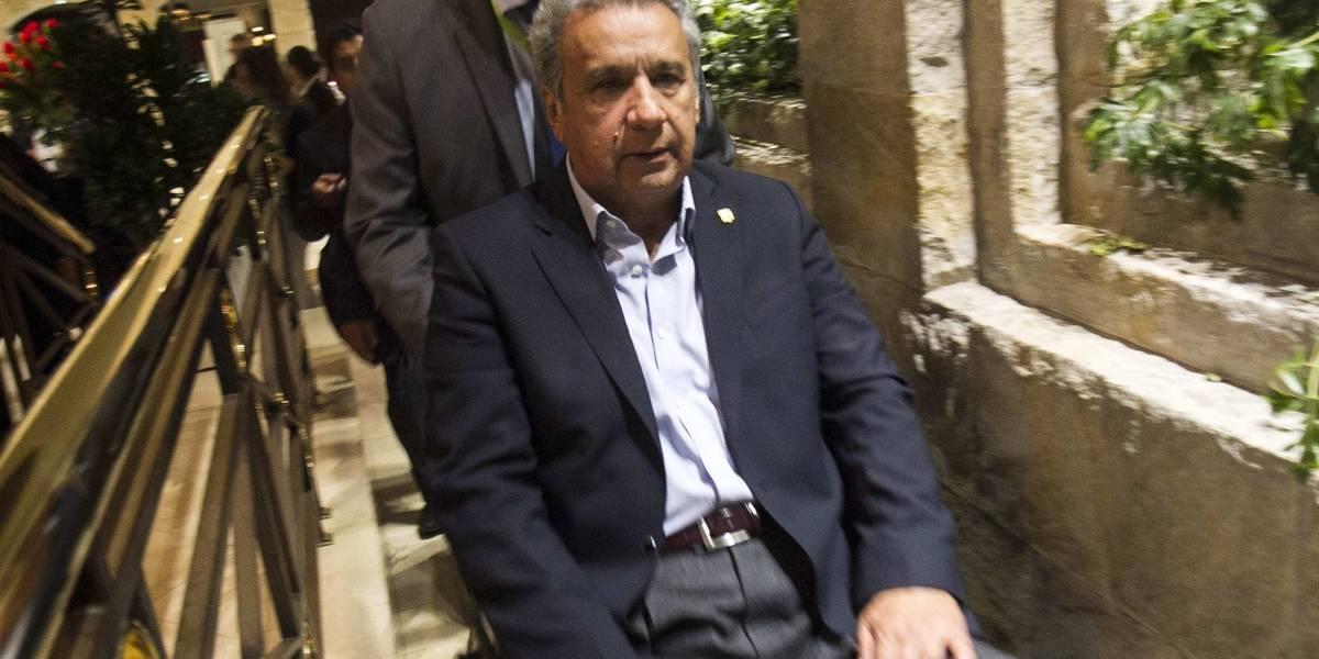 Lenín Moreno dio 12 horas para que entreguen pruebas de vida de periodistas secuestrados