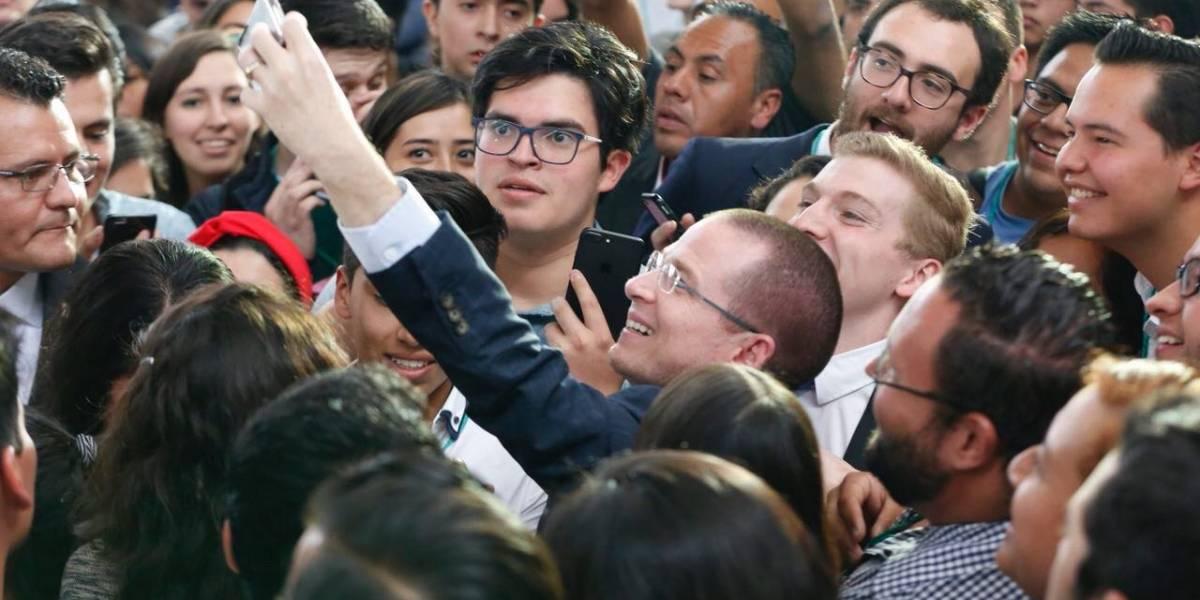 Anaya elogia virtudes de candidatos presidenciales