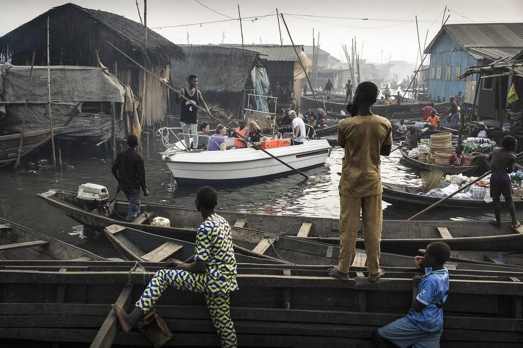 """Lagos Waterfronts under Threat"" de Jesco Denzel ganadora en la categoría Contemporary Issues. Crédito: Jesco Denzel for Laif, World Press Photo via AP"
