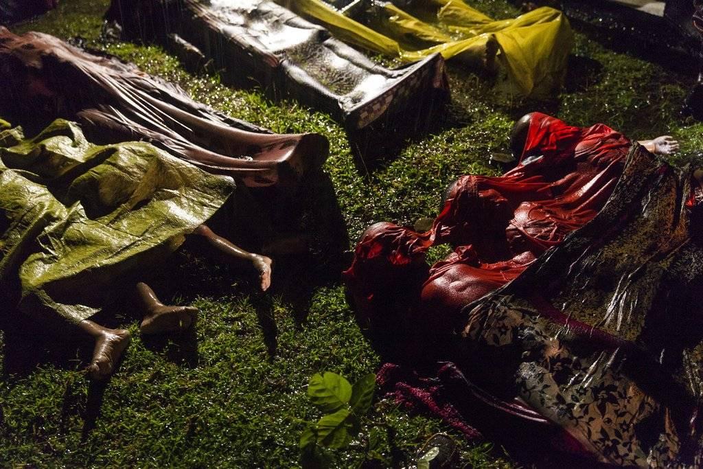 """""""Rohingya Crisis"""" de Patrick Brown, ganadora del premio en General News. Crédito: Patrick Brown, Panos Pictures for Unicef, World Press Photo via AP"""