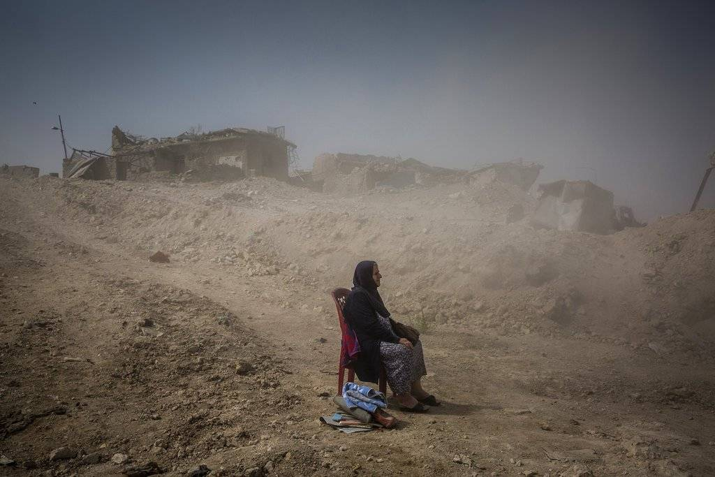 """The Battle for Mosul"" de Ivor Prickett, ganadora en categoría General News. Ivor Prickett, The New York Times, World Press Photo"