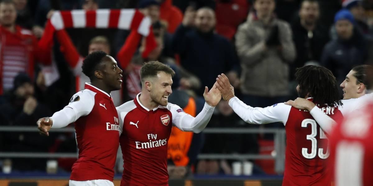 Europa League: Arsenal y Atlético avanzan sufriendo a semifinales