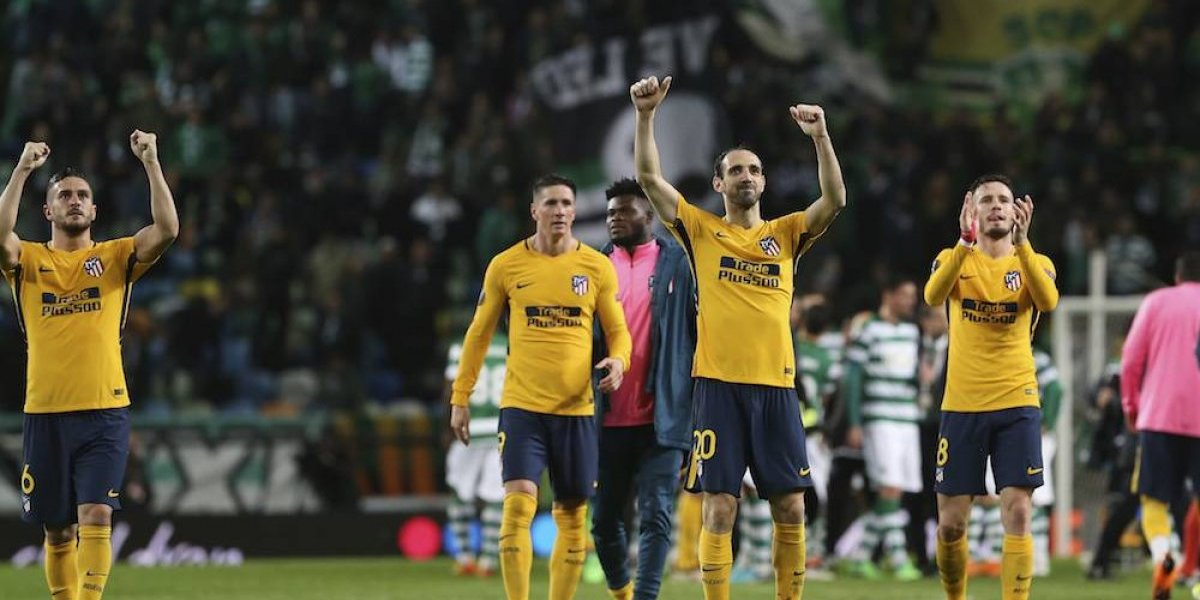 Atleti califica a semifinales de la Europa League pese a derrota