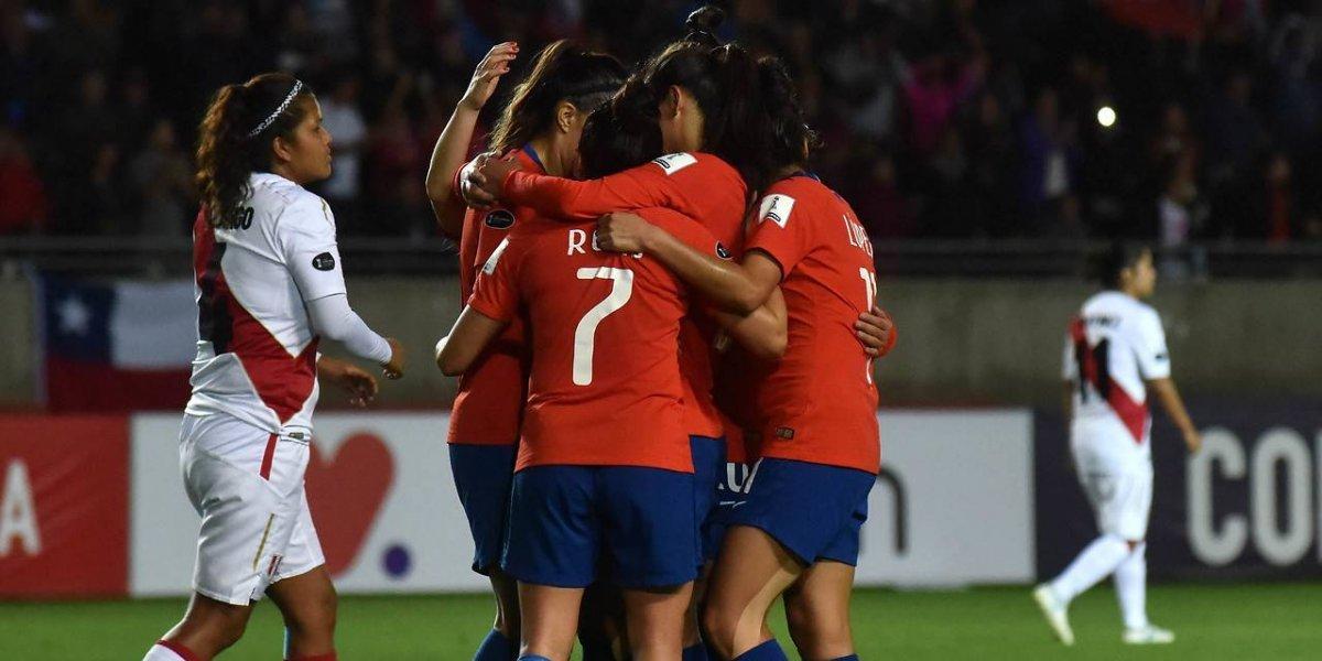 Chile goleó a Perú y avanzó al cuadrangular final en la Copa América Femenina
