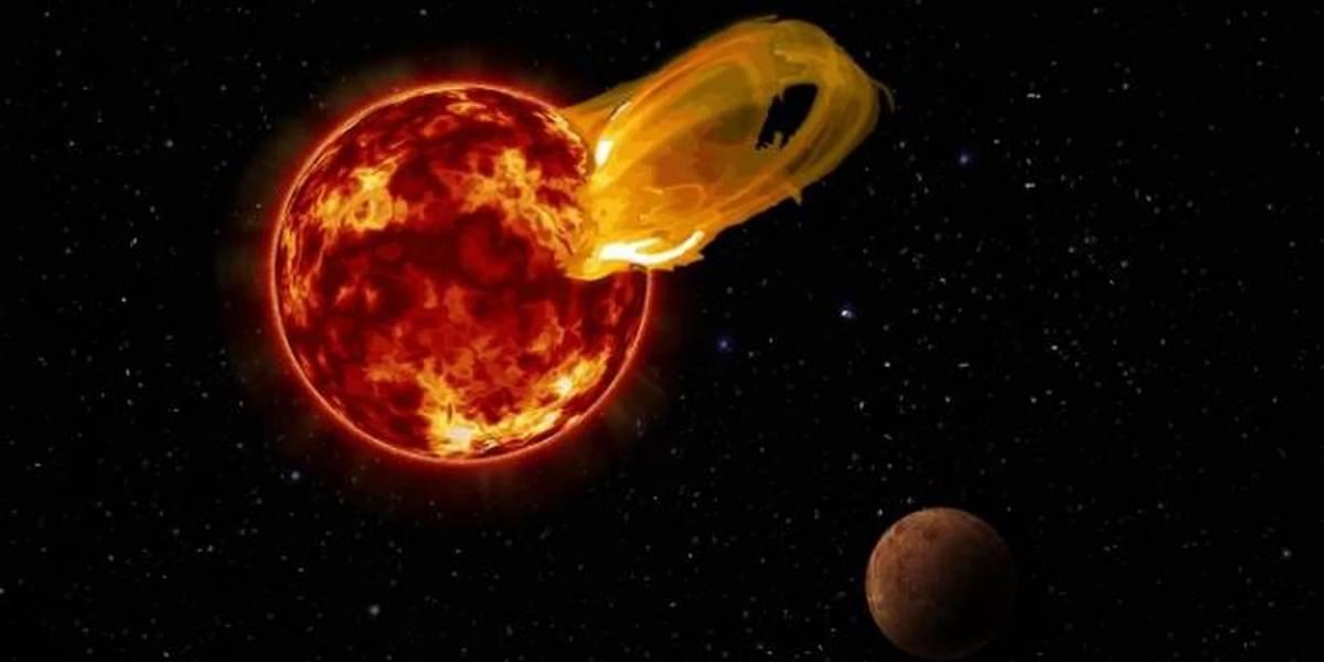 Logran ver a simple vista increíble llamarada de Próxima Centauri