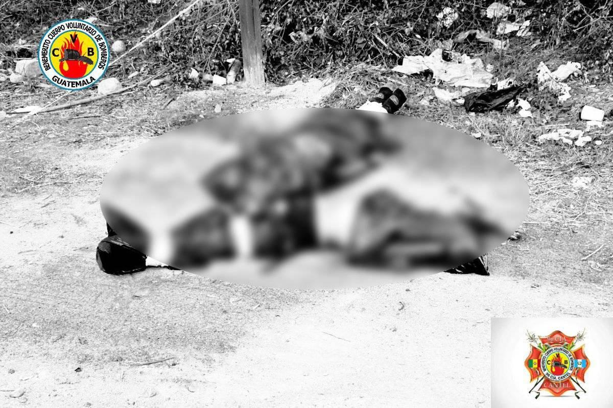 dos cadáveres encontrados en Cantel