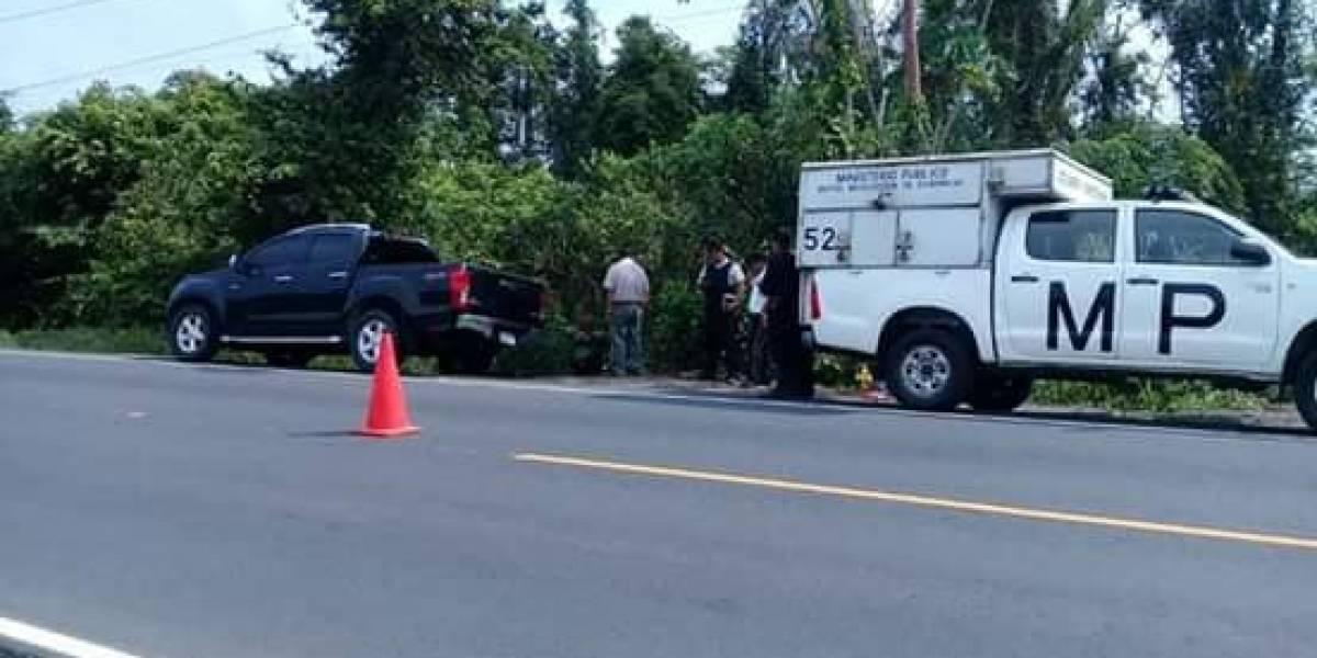 Localizan cinco personas fallecidas dentro de un vehículo en Izabal