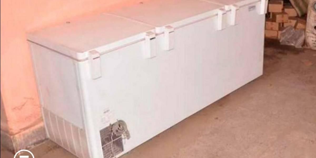 ¡Estremecedor! Hombre guardó cadáver de su mamá por tres años en un congelador