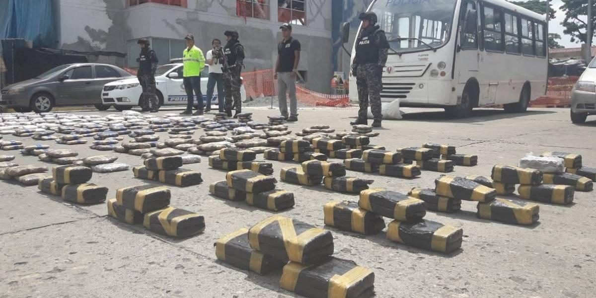 Policía desarticula banda narcodelictiva que operaba en Guayaquil