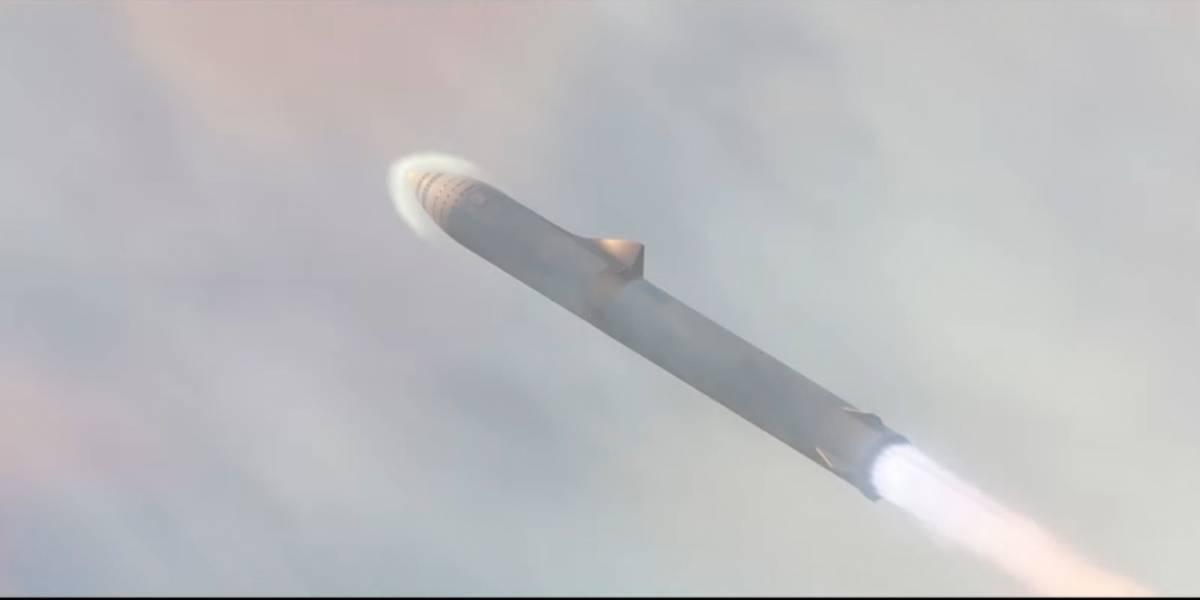 SpaceX vuelve a insistir en su capacidad para enviar humanos al otro lado del mundo en cohetes