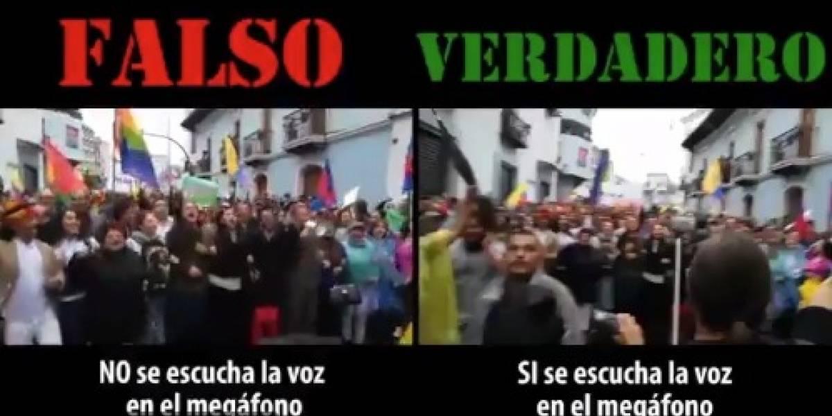 Revolución Alfarista: Audio contra Lenin Moreno fue modificado