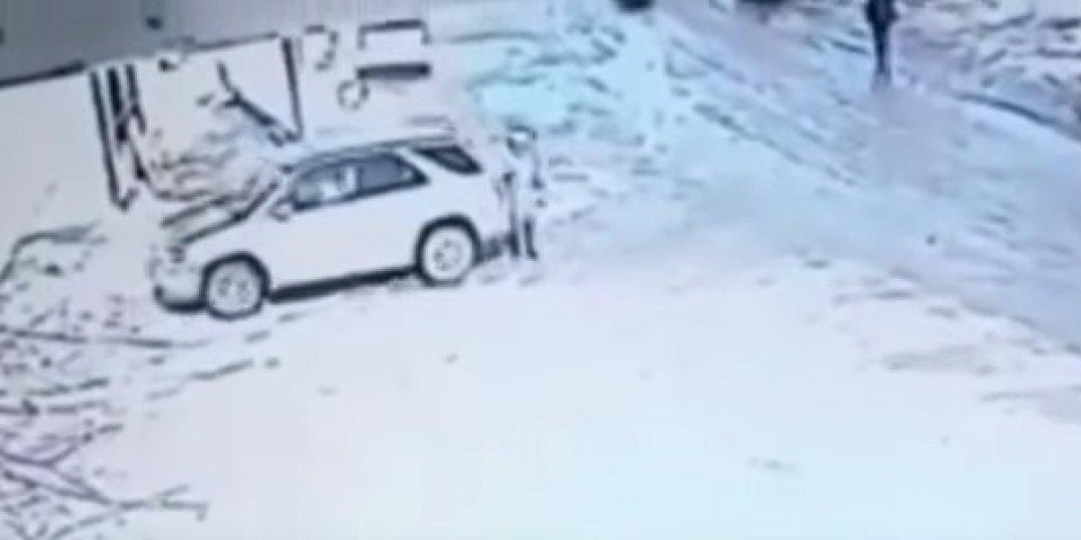Video: Conductor arrolló a una anciana