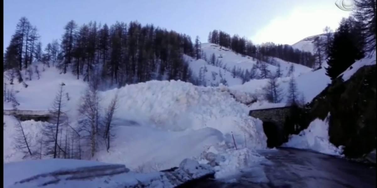 Avalanche atinge resort na França e causa pânico