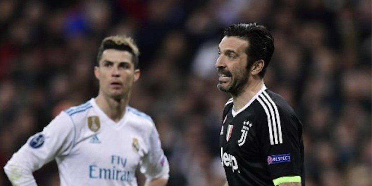 VIDEO. El cariñoso detalle entre Cristiano Ronaldo y Buffon, que pocos vieron