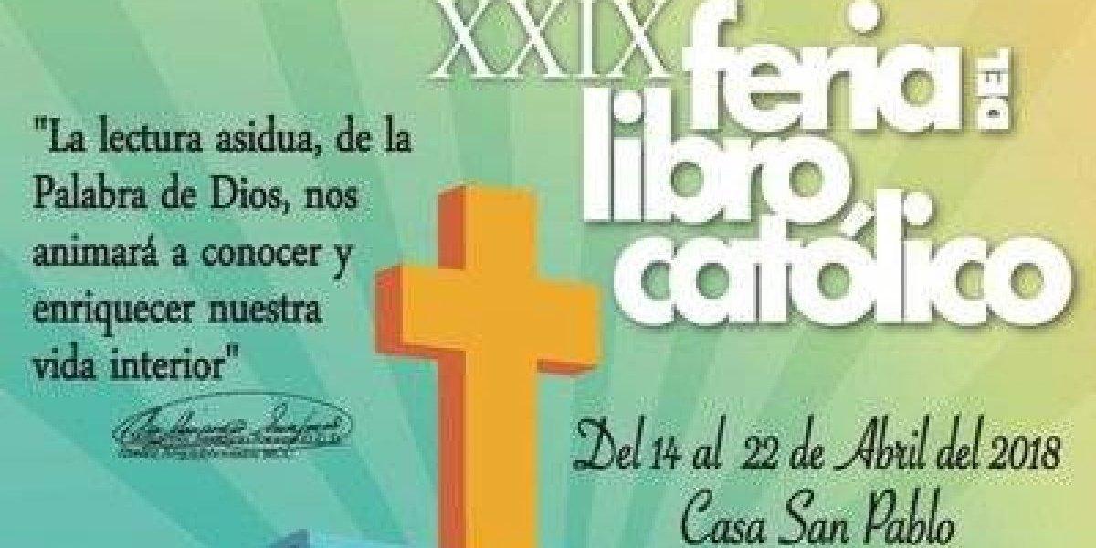 Mañana inicia la Feria del Libro Católico en Casa San Pablo