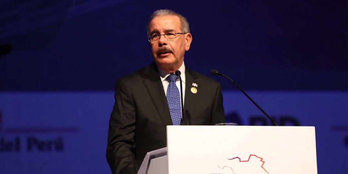 Presidente Medina aboga por un comercio con justicia y equidad