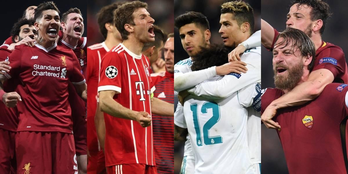 Definidas las semifinales de la Champions League 2017/18