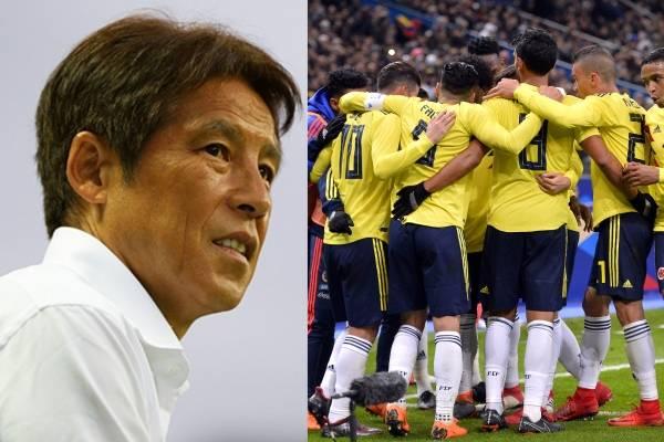 Contundente advertencia del entrenador de Japón para la Selección Colombia