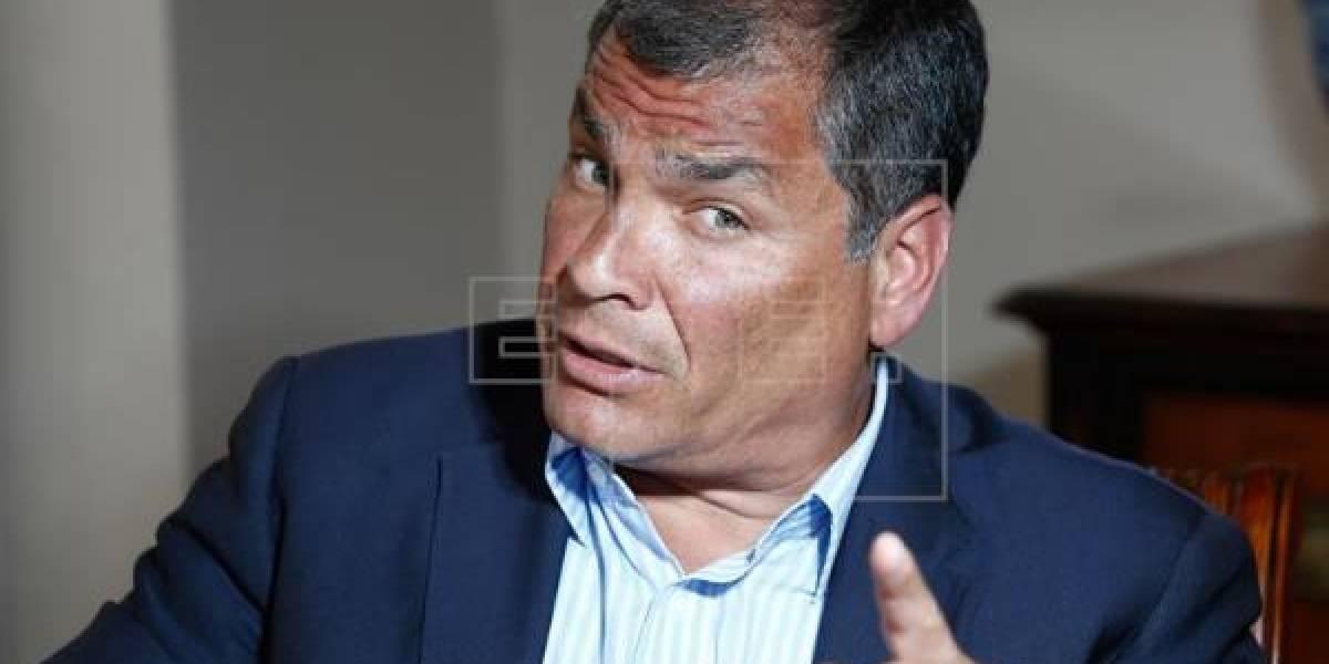 'Correa corrupto', el grito en hotel de España